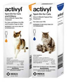 Activyl Spot-On for Cats and Kittens