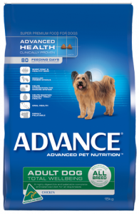 Advance Dog Dry Adult ALL BREED CHICKEN 15KG