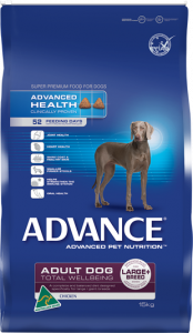 Advance Dog Dry Adult LARGE BREED CHICKEN 18KG BONUS BAG