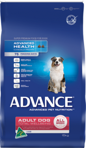 Advance Dog Dry Adult TOTAL WELLBEING ALL BREED LAMB & RICE 15KG