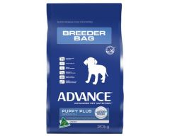 Advance Dog Dry PUPPY PLUS GROWTH ALL BREED BREEDER BAG CHICKEN 20KG