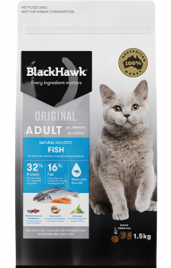 Black Hawk Adult Feline Fish