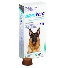 Bravecto Chew Large Dog (20kg - 40kg) 1000mg Blue