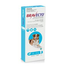 Bravecto Spot-On Dog Blue 20-40kg 1000mg