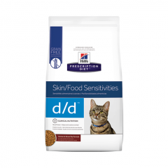Hills Prescription Diet d/d Skin/Sensitivities Feline 1.59kg