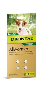 Drontal Small Dog Tablets