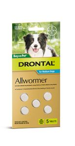 Drontal Medium Dog 5