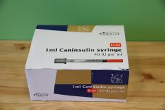 Caninsulin Syringe 1ml (30 pack)