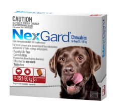 NexGard 3-Pack for Dogs 25.1 - 50kg