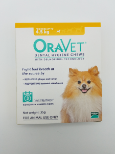 Oravet Dental Hygiene Chews for Very Small Dogs Up to 4.5kg Trial 3 pack