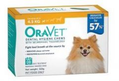 Oravet Dental Hygiene Chews for Extra Small Dogs (