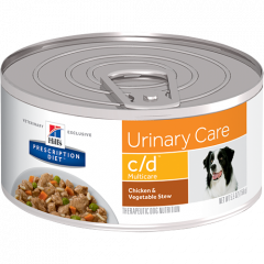 Hills Prescription Diet Canine c/d Urinary Care Chicken & Vegetable Stew 156g X 24