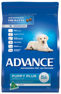 Advance Dog Dry PUPPY PLUS GROWTH ALL BREED CHICKEN 3KG