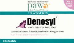 PAW Denosyl Tablets 90mg for Cats & Small Dogs