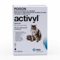 Activyl Dark Blue for Large Cats