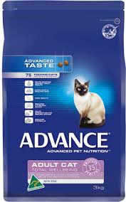 Advance Cat Dry Adult FISH TOTAL WELLBEING 3KG